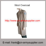 Wholesale Cheap China Army Wool Polyester Military Police Long Great Coat