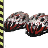 Reflective Bicycle Sports Helmets With CE Bsci Approvaled