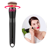 Private Label Beauty Care Device USB Rechargeable Electric Makeup Brush for Women Face Powder Puff Blending