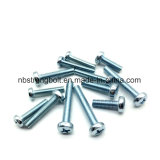pH Cross Recessed Raised Cheese Head Screws DIN7985 Zp