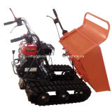 2015 Wholesale 6.5HP 300kgs Manual Tipping Mini Crawler Dumper, Mini Dumper Truck, Garden Mini Dumper Truck
