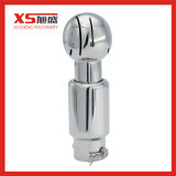 Stainless Steel 360 Cleaning Ball Sanitary Rotating CIP Spray Ball with Pin