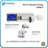 Manufacture Cheap ICU Portable Safe Medical Electric Infusion Syringe Pump