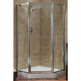 Aluminium Frame Tempered Glass Shower Room Patition