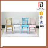 Modern Crystal Transparent Stacking Colorful Kids Children Tiffany Chair for Wedding Br-C145