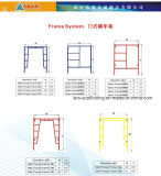 Portable Mobile Steel Frame System Scaffold