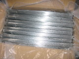 Black or Galvanized Cut Wire, Length Can Be 1m for Binding