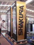 360L Glass Single Door Merchandiser with Display Canopy