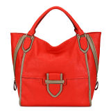 Fashion Vintage Classic Handbag in Red for Women (MBLX033129)