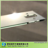 4mm Small Tempered Glass with Holes for Instruments