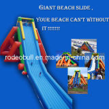 Water park Giant Hipo Inflatable Water Slide for beach