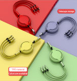 Factory Price 3 in 1 USB Cable Phone Accessory USB Mobile Charger Mobile Phone Accessories
