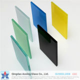 4.38-12.38mm Colored and Clear Toughened Laminated Glass