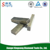 Diamond Wire Saw Segment for Cutting Marble and Granite