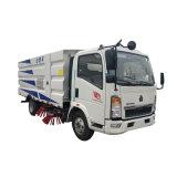 4cbm HOWO Street Road Sweeper Truck Euro 4