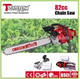 useful gas powered 82cc chain saw