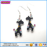 High Quality Zinc Alloy Cute Deerlet Charm Earring