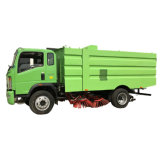 HOWO Sanitation Vehicle Road Sweeper Truck with Low Price