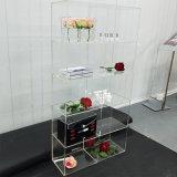 Custom Made Acrylic Floor Hat Boutique Display Stand Handbag Wallet Cosmetics Display Rack