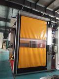 Industrial PVC Rapid Fast Roller up Mechanical Shutters Clean Room Garage Commercial High Speed Door