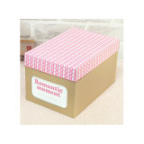 Custom Logo Handmade Cheap Divided Fancy Gift Paper Storage Box