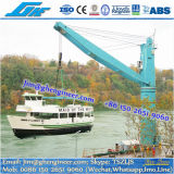 Liebherr Model FCC 320 Fixed Cargo Crane Multi Purpose Floating Crane with Grab, Hook, Container Spreader
