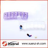 7 Day Pill Organizer Box, Portable Daily Weekly Medicine Storage Box