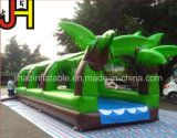 Tropital Forest Theme Inflatable Water Slip Slide with Pool
