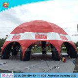 Big Inflatable Spider Tent / Red Inflatable Igloo Tent with Good Price