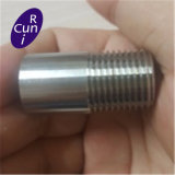 Machine Tool Processing Stainless Steel Screwed Thread Nipple Pipe Fitting