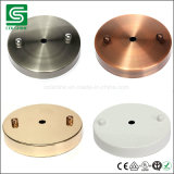 Indoor Metal Ceiling Canopy Lighting Plates for Pendant Lamp