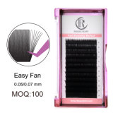 1 Second Fast Easy Fanning Eyelash Extensions