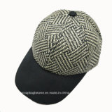 Sun Hat 6 Panel Paper Straw Baseball Cap