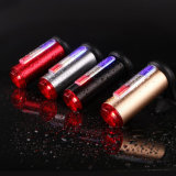 Rechargeable 3 Color COB LED Bike Rear Tail Police Light