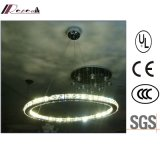 New Design Ring Crystal Pendant Lamp for Hotel Project