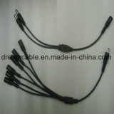 Offer 1m DC Power Cable Splitter for Security Camera
