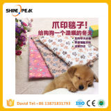 40*60cm Soft Warm Paw Print Small Pet Dog Cat Blanket Bed Mat High Absorbent Cleaning Drying Bath Towel Pet Products