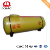 Fiberglass Double Wall Underground Oil Tank with as Standards