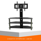 Simple Styling Black Glasstv Table/ TV Stand / TV Rack / Floor Stand