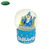 Wholesale Hand Painted Resin Snow Globe for Home Decor