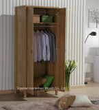 Durable Bedroom 2 Door Melamine Wardrobe Closet Furniture