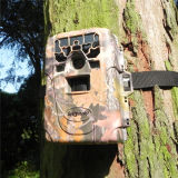 12MP HD 1080P Black IR Game Hunting Trail Camera Night Vision Camera with 2.0′′ Color TFT LCD