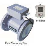 High Accuracy Remote Electromagnetic Flow Meter with 4-20mA for Slurry and Pulp