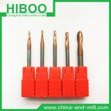 Hiboo HRC58 Cheap Carbide Ball Milling Cutter for CNC Machine