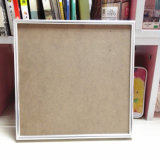 Bright Silver Aluminum Picture Frame From Foshan Factory