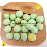 Imported Peanut High Nutrition Green Color Round Healthy Wasabi Food
