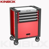 Kinbox 28 Inch 4 Drawer Trolley Tool Set Comes with a Cabinet for Home Use