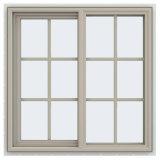 Cheap Modern Design Sliding Glass Window with Aluminum
