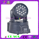 18X3w LED Mini Moving Head Cheap DJ Lights