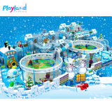 Hot Selling Ice World Play Club Soft Equipment for Kids Indoor Playground with Plastic Material